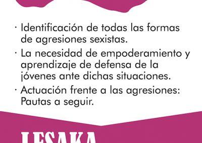 Talleres sobre violencia sexista en Lesaka